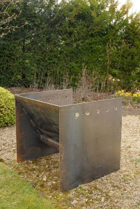 Superchunk fire pit artisan contemporary modern unusual metal firepit see gallery