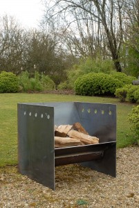 Superchunk fire pit artisan contemporary modern metal firepit