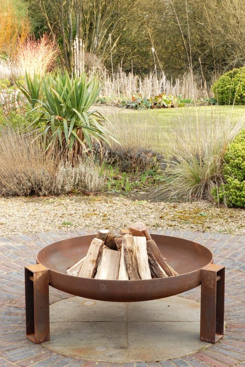 Vulcan fire pit contemporary artisan firepit made in the uk see gallery firebowl