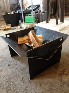 Tecton collapsable fire pit