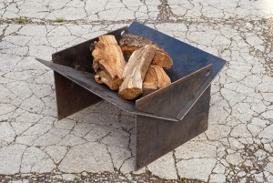 Tecton collapsible fire pit
