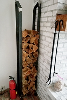 Thinman log holder NY!
